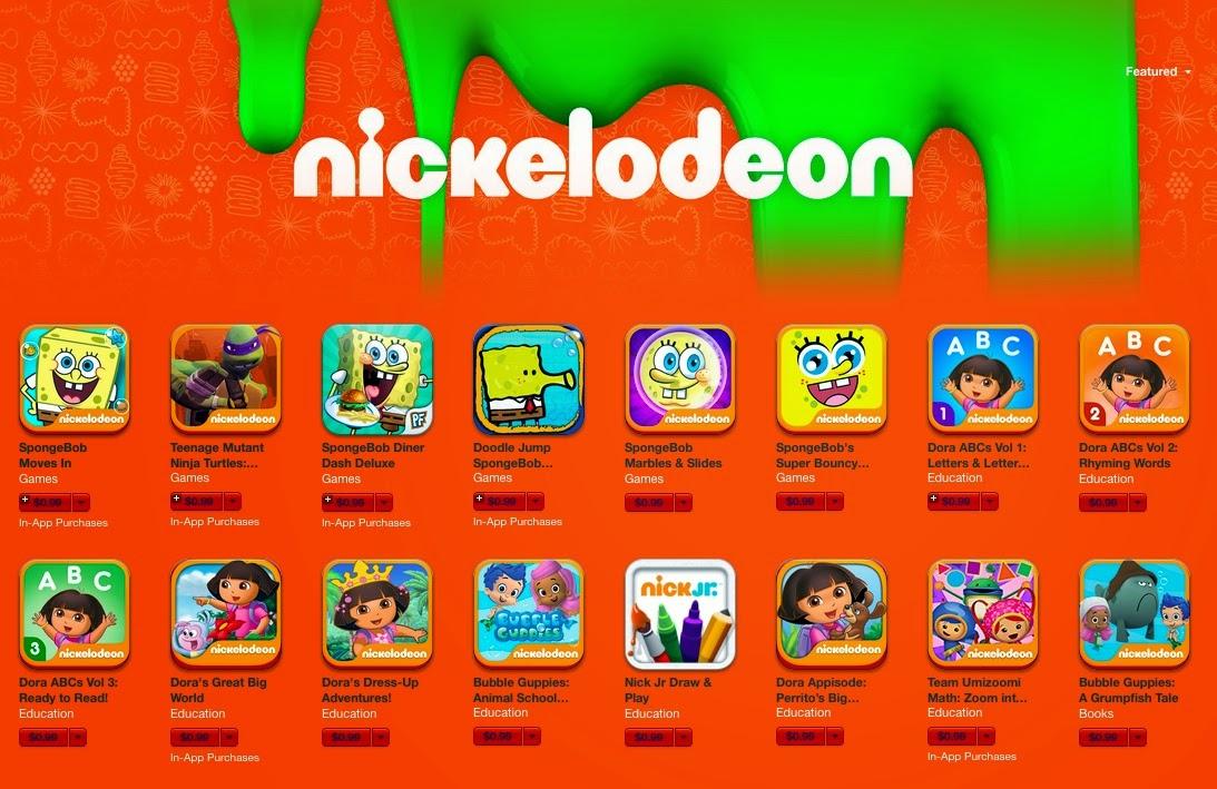 NICKELODEON AFRICA - Games