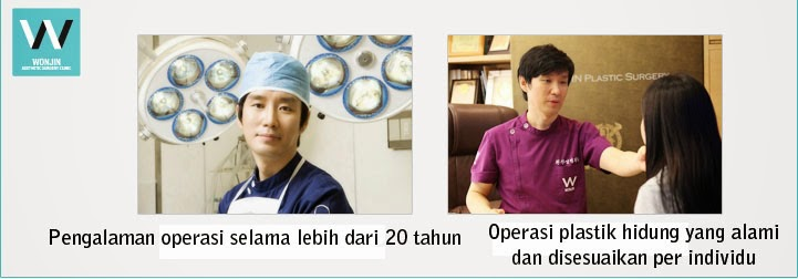 Spesialis bedah kosmetik Wonjin yang berpengalaman