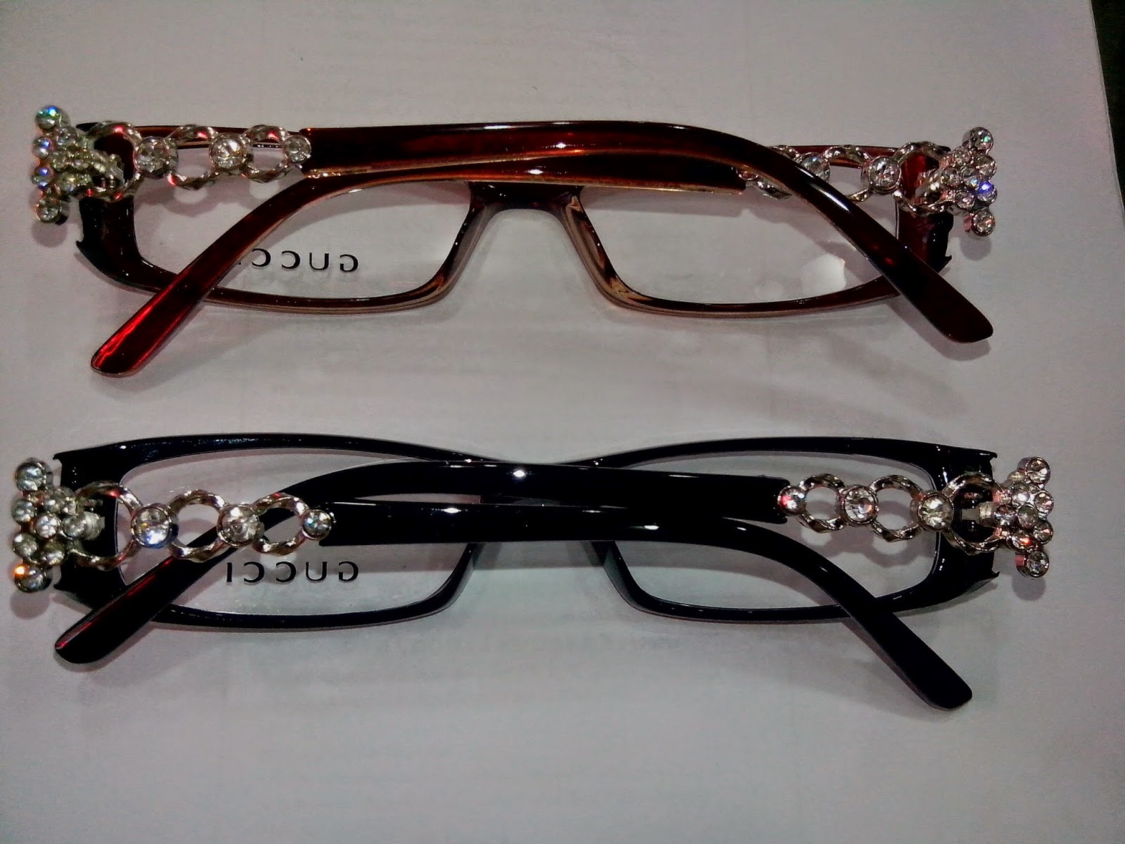 Black Frame Glasses With Diamonds : Buy Frames, Sunglasses,Contact lenses : Plastic Eye wear ...