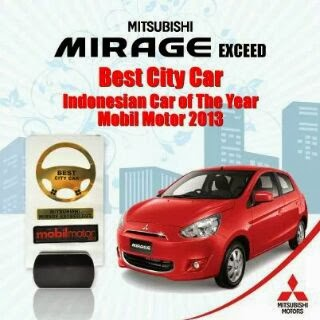 mitsubishi mirage city car 2013