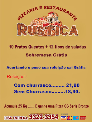Pizzaria e Restaurante Rustica