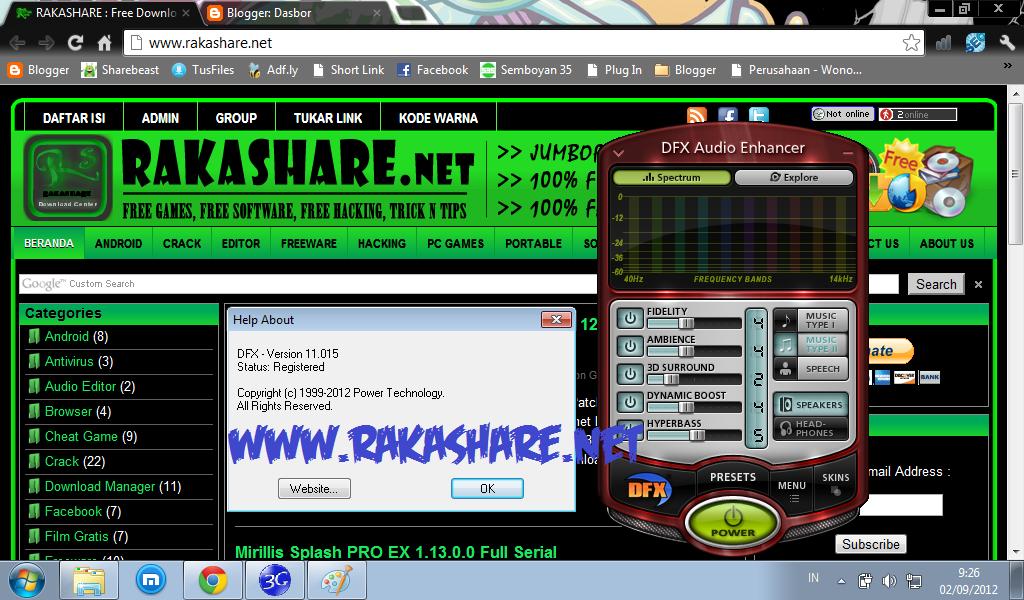 dfx serial number free