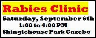 9-6 Rabies Clinic-Shinglehouse Park