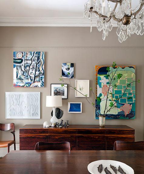 Living in designland el color topo en paredes for Pintura color topo