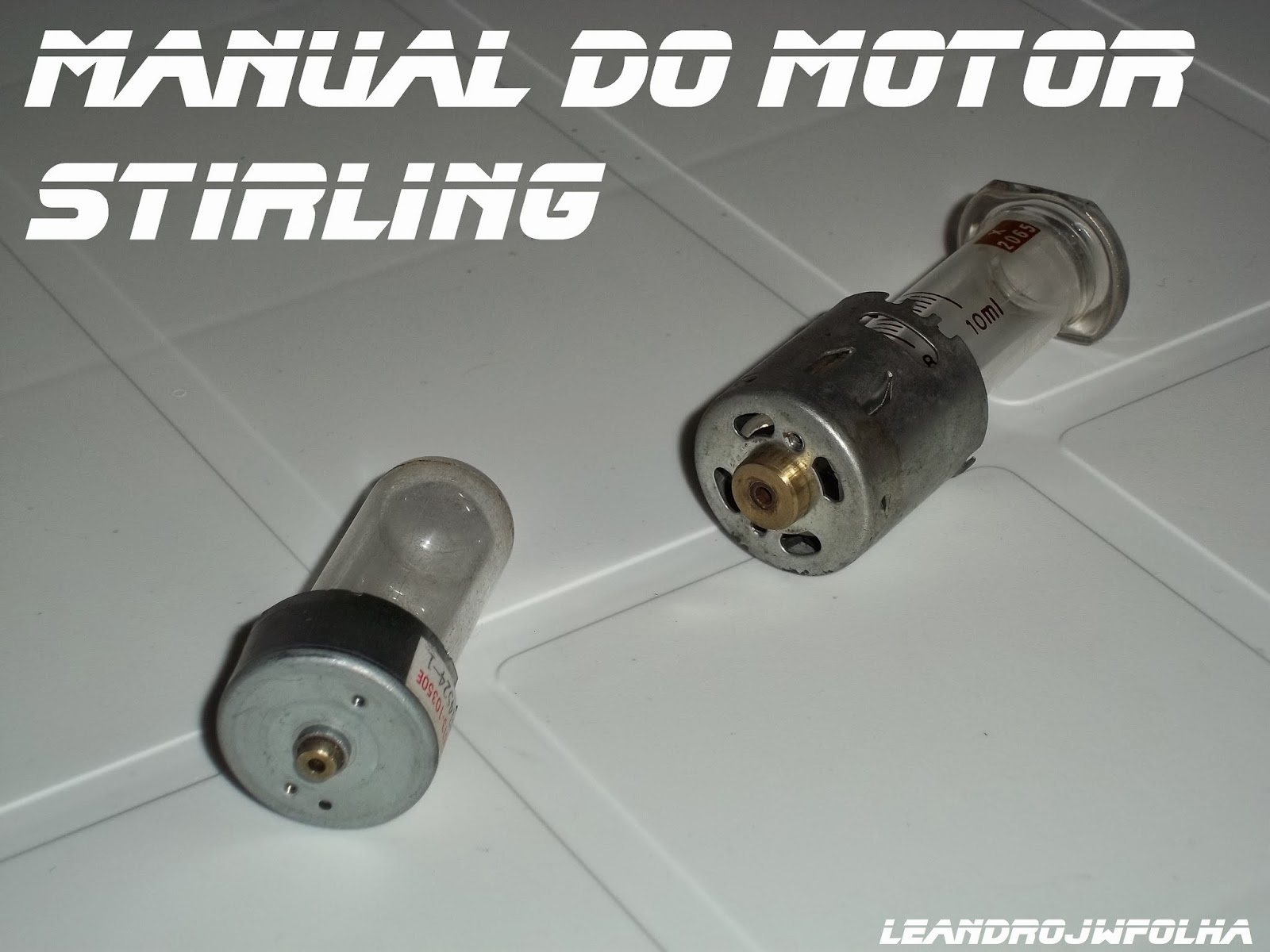 Manual do motor Stirling, carcaças de motor elétrico