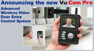Announcing the New Vu-Com Pro 3000 - Advanced Wireless Video Door Entry Control System