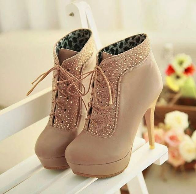 Trendy And Beautiful Booties - Fashion Diva Design  See  more http://worldcutefashion.blogspot.com/