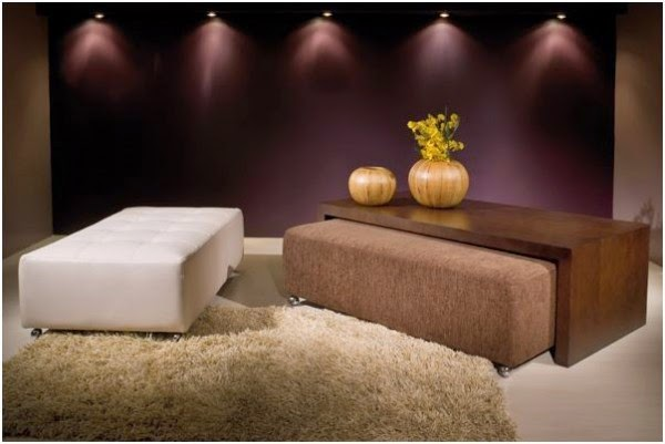 Coffee Table With Ottoman Seating
