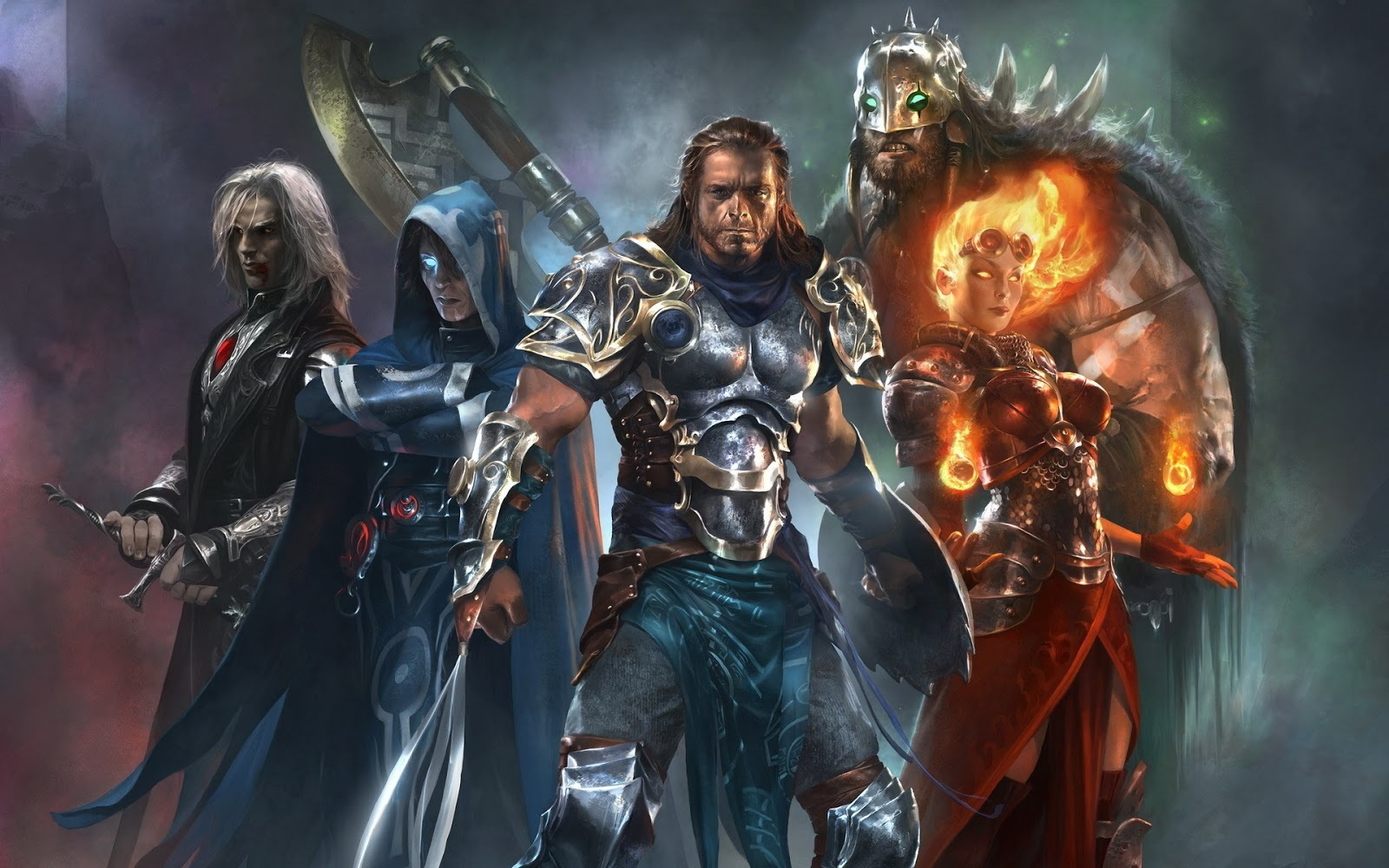 Magic The Gathering Characters Wallpaper