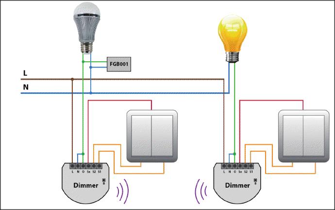 fibaro%2Bdimmer%2Bbyp X Light Sensor Wiring Diagram on