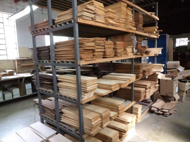 Estoque de madeiras