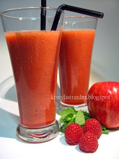 apple-raspberry-mint-juice