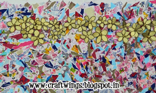 http://craftwings.blogspot.in/2014/05/another-fabric-mural.html