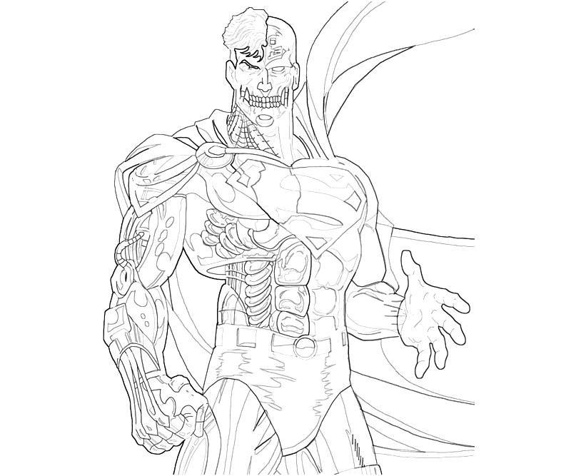 printable-cyborg-superman-power-coloring-pages