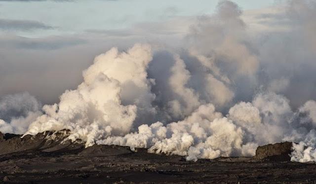 Islândia levanta para vermelho ameaça de erupção de Bardarbunga