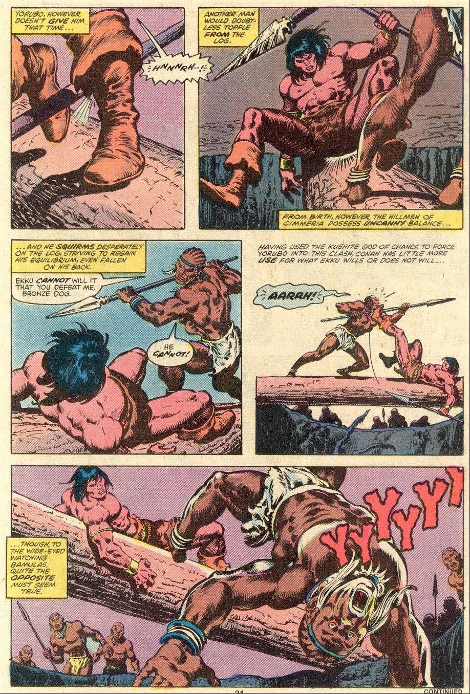 Conan the Barbarian (1970) Issue #101 #113 - English 12