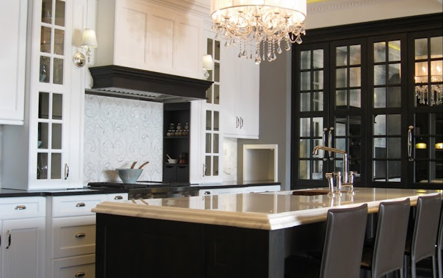 completed classic kitchen