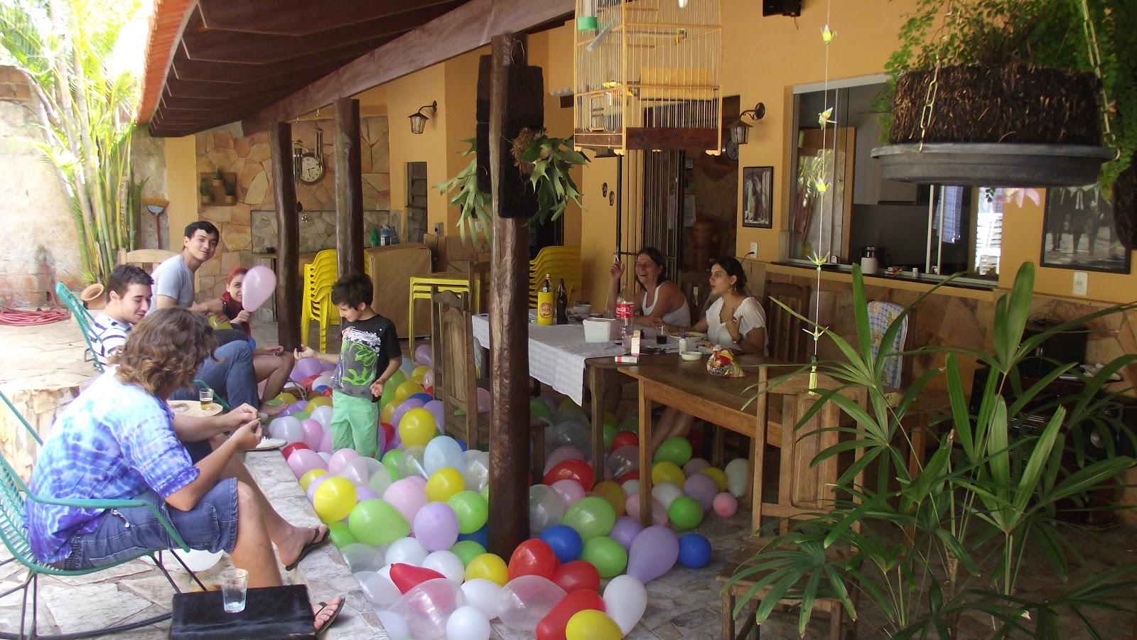 decoracao festa vovó:Lina Origami: Decoração em Origami – Aniversário da Mariana, Vovó