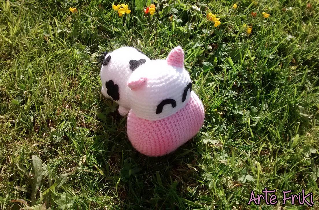 Amigurumi Vaca : Vaca amigurumi arte friki