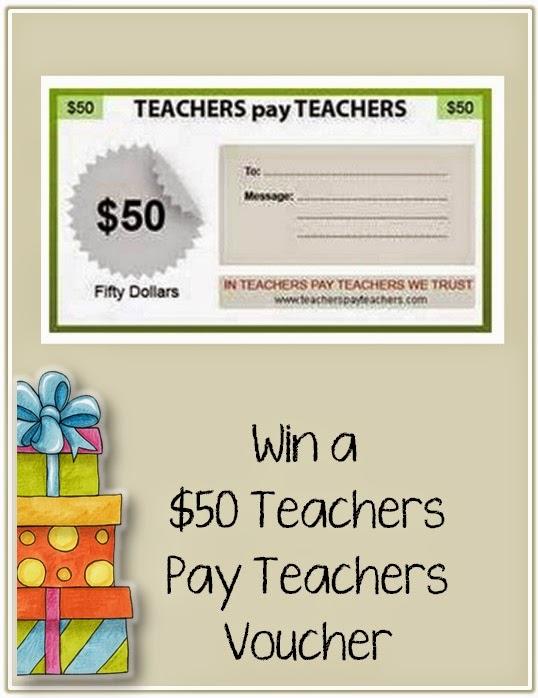 Win a $50 TpT voucher via Clever Classroom's blog