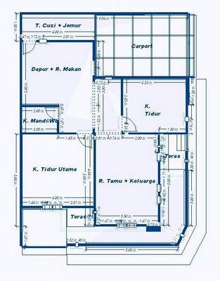 Denah Rumah on Denah Rumah Minimalis   Rumah Minimalis Idaman Modern 2013   Desain