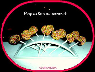 image Pop cakes au caranut