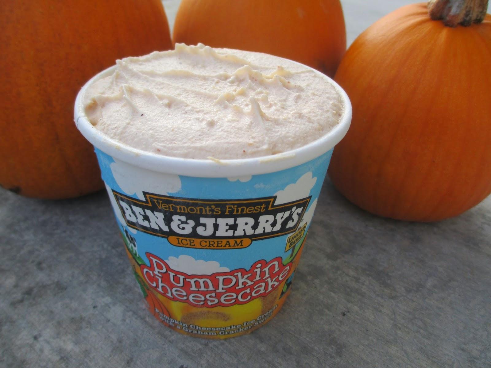 Pumpkin Cheesecake Ice Cream and Homegrown Pumpkins