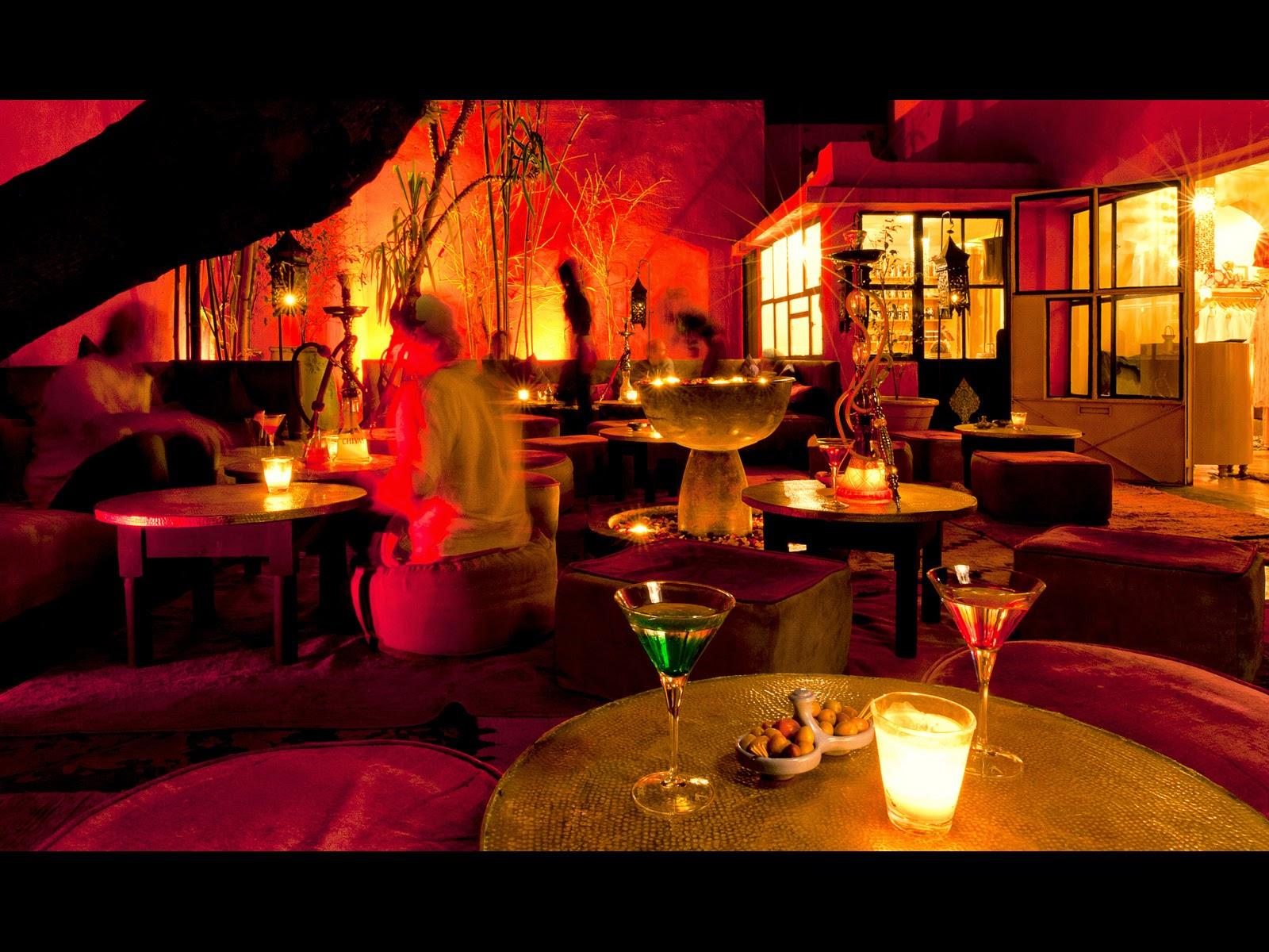 vida nocturna en marrakech