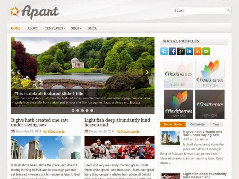Apart - Free Wordpress Theme
