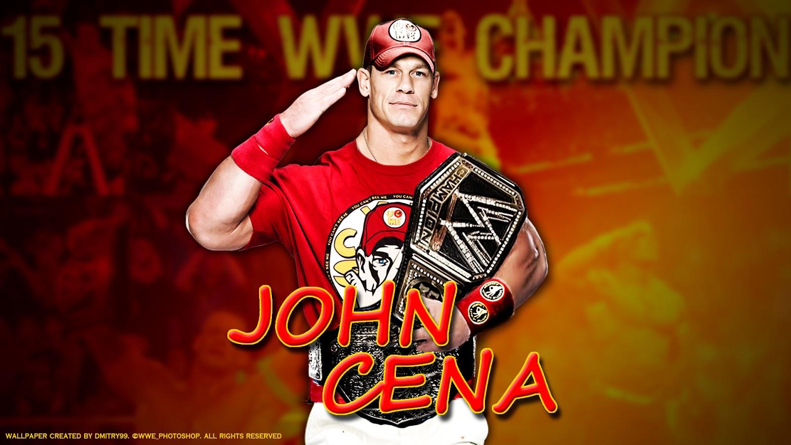 John Cena HD Wallpaper Widescreen