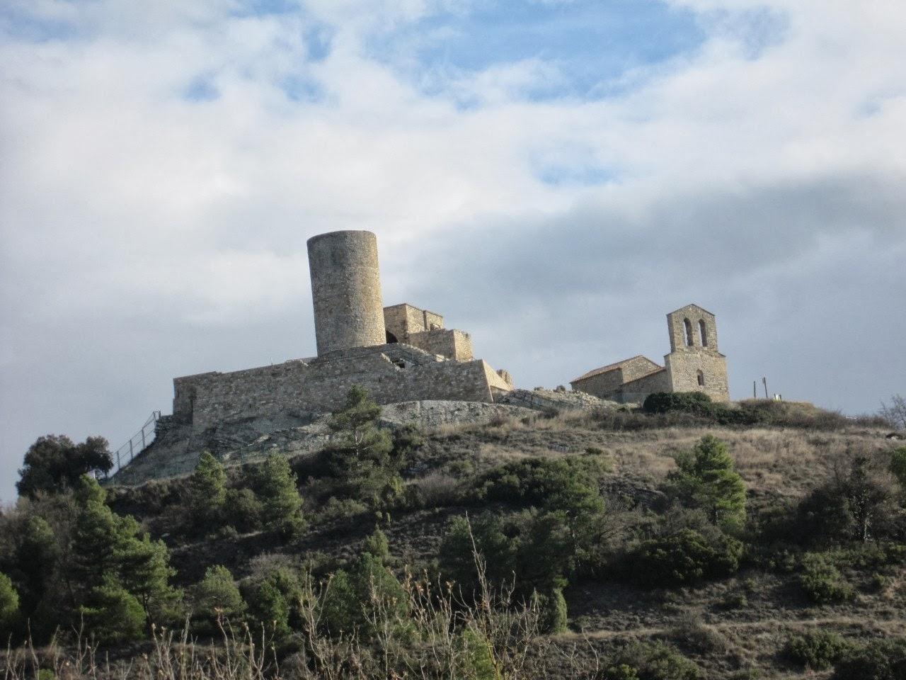 Amb bicicleta.: De Manresa al Castell de Boixadors