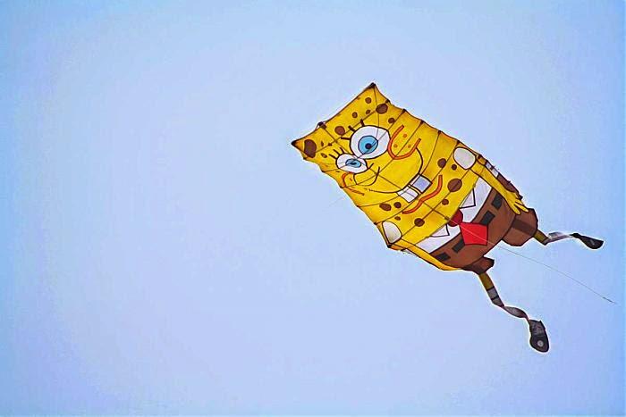 Layang-layang Spongebob