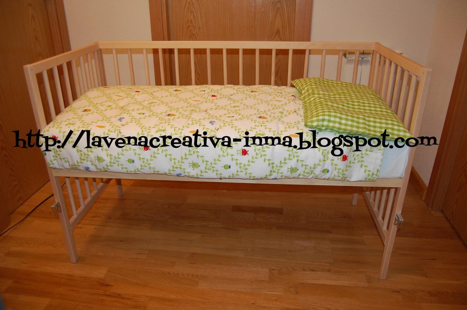 La vena creativa c mo convertir una cuna en cuna colecho - Cunas que se convierten en camas ...