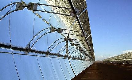 Solana solar station in the Arizona