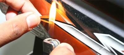 Cara Melepas Stiker Motor