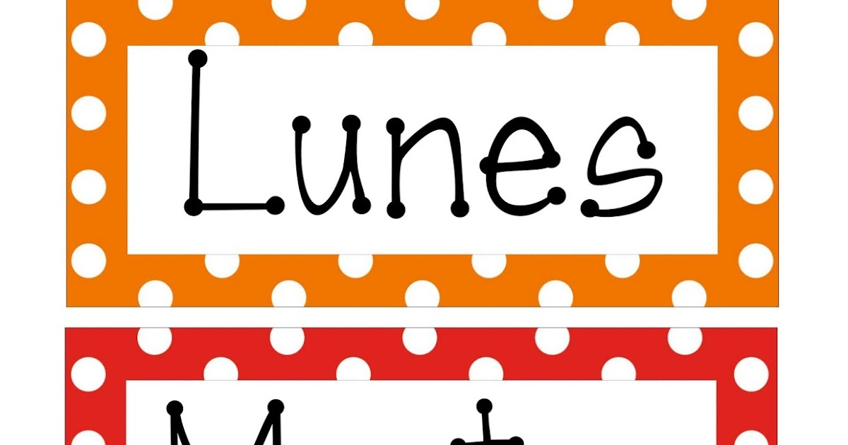 ... español e inglés para imprimir ~ Educación Preescolar, la revista