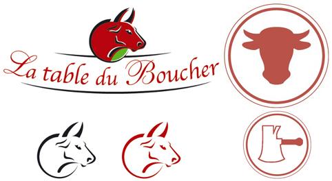 H raldie blasons des m tiers les bouchers charcutiers - La table du boucher villeneuve d ascq ...