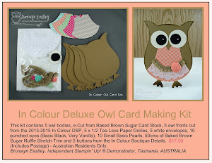 AUSTRALIAN RESIDENTS ONLY - Card Making Kits For Sale            CK 1