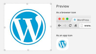 yang baru di wordpress 4.3 site icon