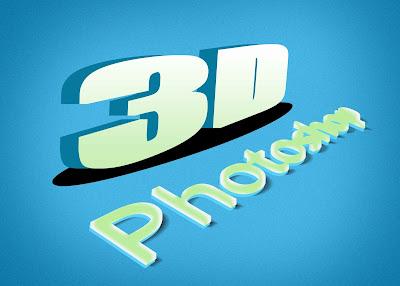 Membuat Tulisan 3D Dengan Photoshop 16