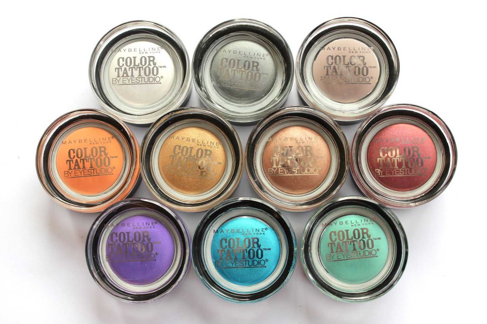 amarixe: beauty and lifestyle blog: Maybelline Color Tattoo Eyeshadows ...