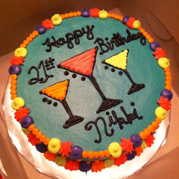 Sweet Treats By Susan Martini Glass Cake
