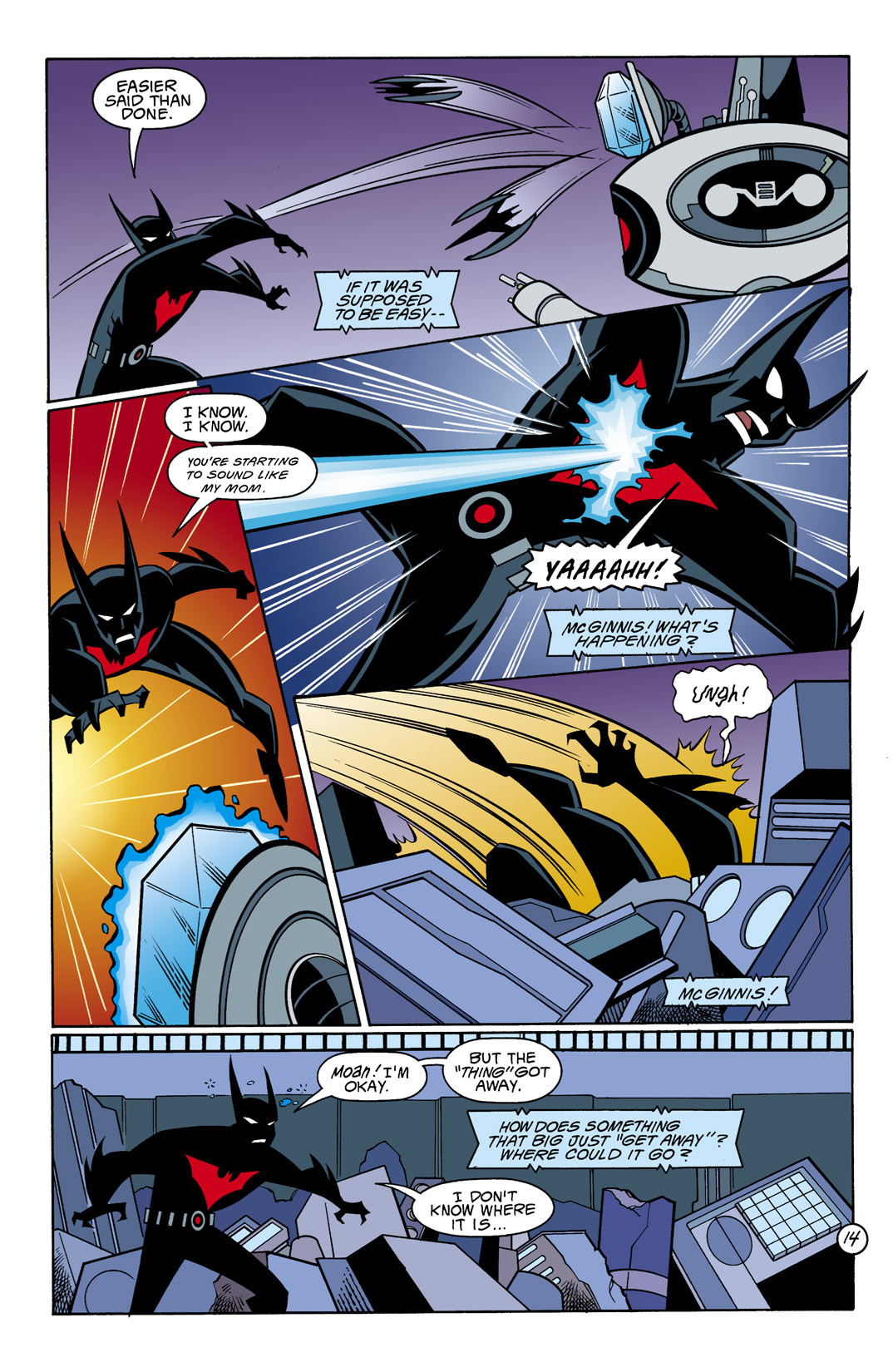 Batman Beyond [II] Issue #10 #10 - English 15