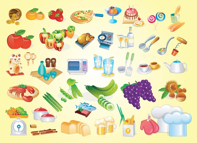 150+ Free Cooking Vector Art Icons Graphics