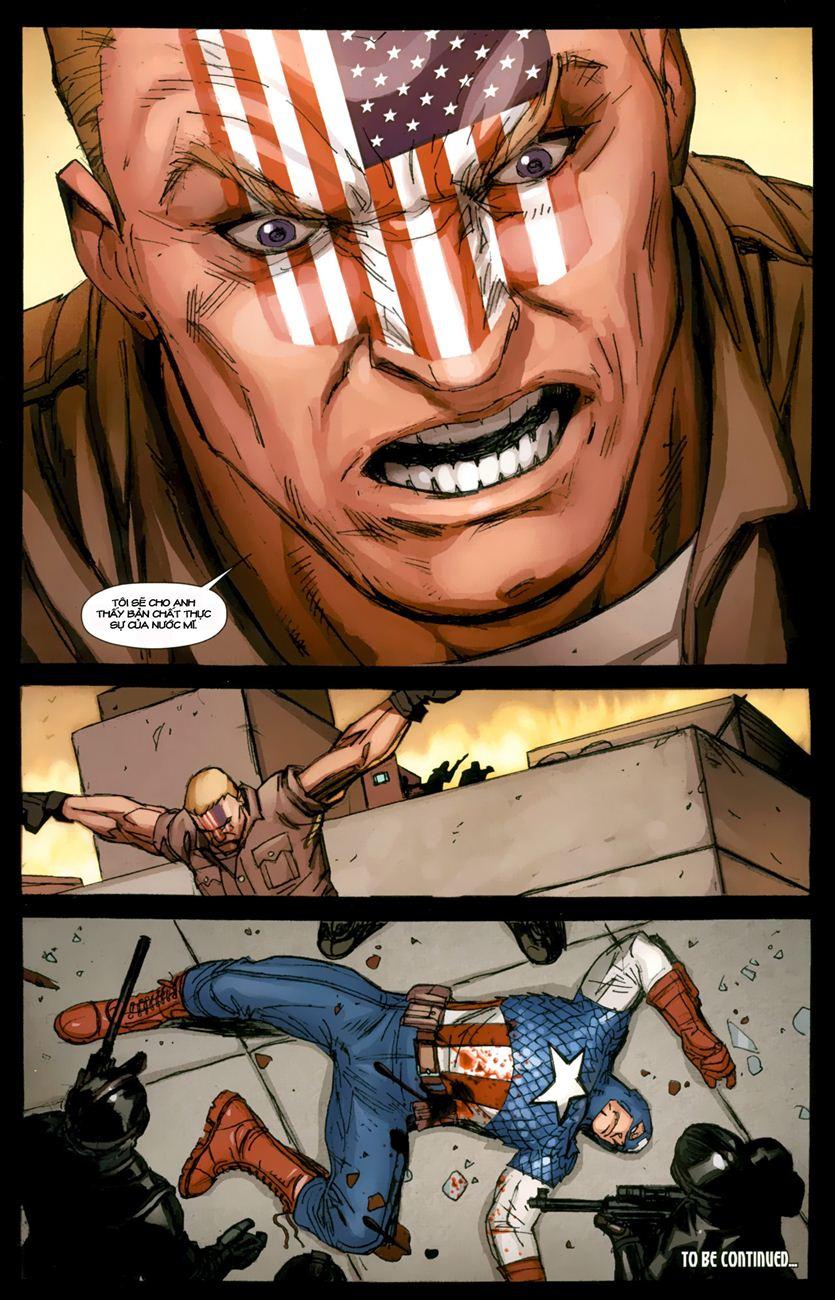 Ultimate Captain America chap 1 - Trang 26
