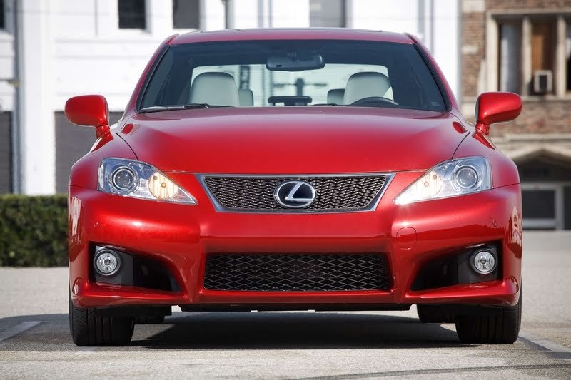 2011 Lexus IS F Front View