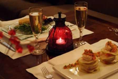 Todomujer cena romantica en casa for Preparar cita romantica