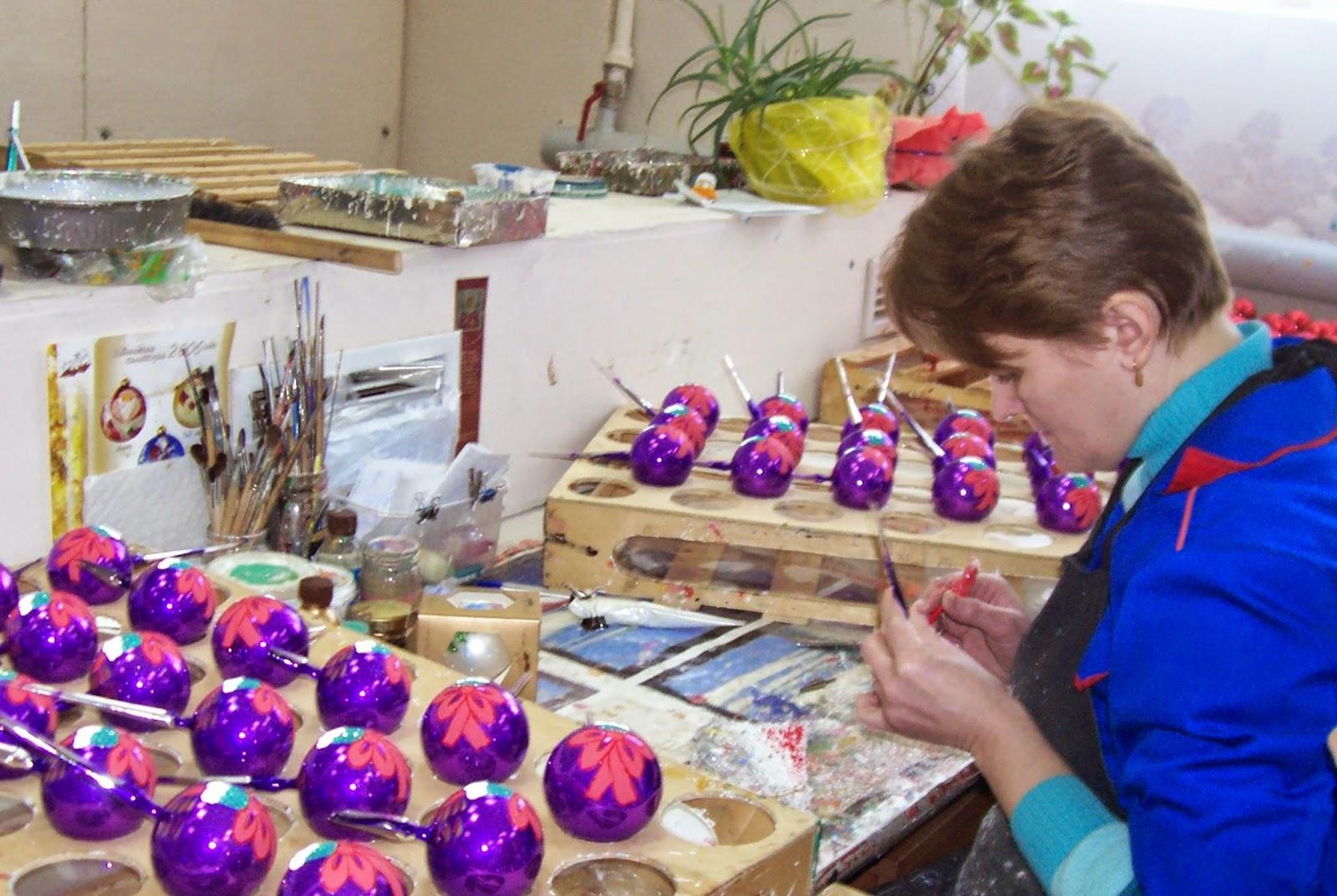 toys Christmas tree елочные игрушки Павлово-Посад фабрика ёлочных игрушек