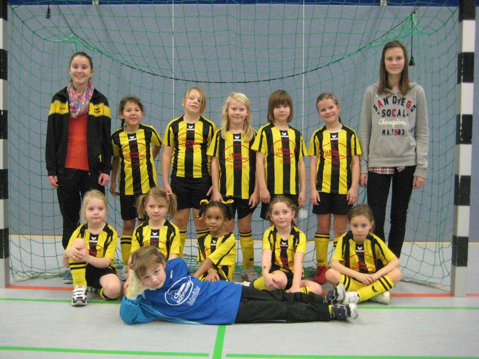 Team F2 Mädchen 2013/2014