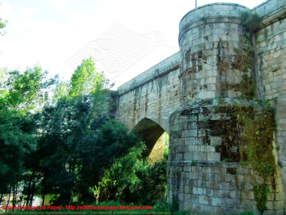 Puente Romano, detalle . EdP